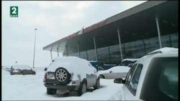 Продължава борбата със снега в Пловдив и областта
