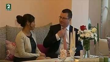 Първата сватба за тази година във Варна е между индонезийка и българин