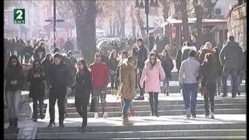 Хиляди студенти посрещнаха 8 декември в Банско