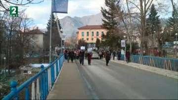 Жителите на Девин излязоха на протест срещу по-високата цена на водата
