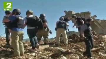 Български журналист е ранен в Сирия