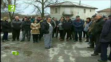 Протест срещу кариера в пловдивско село