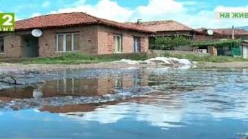Обилните дъждове нанесоха щети в Русенско и Пловдивско