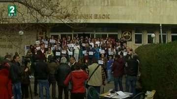 Протест на медици заради смяна на ръководството на болницата в Русе