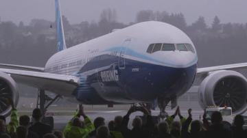 Боинг 777 Екс завърши първия си тестов полет