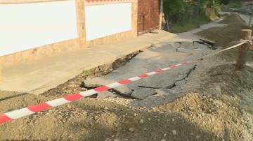 След пороя в Боголин - кога ще бъде възстановен рухналият път