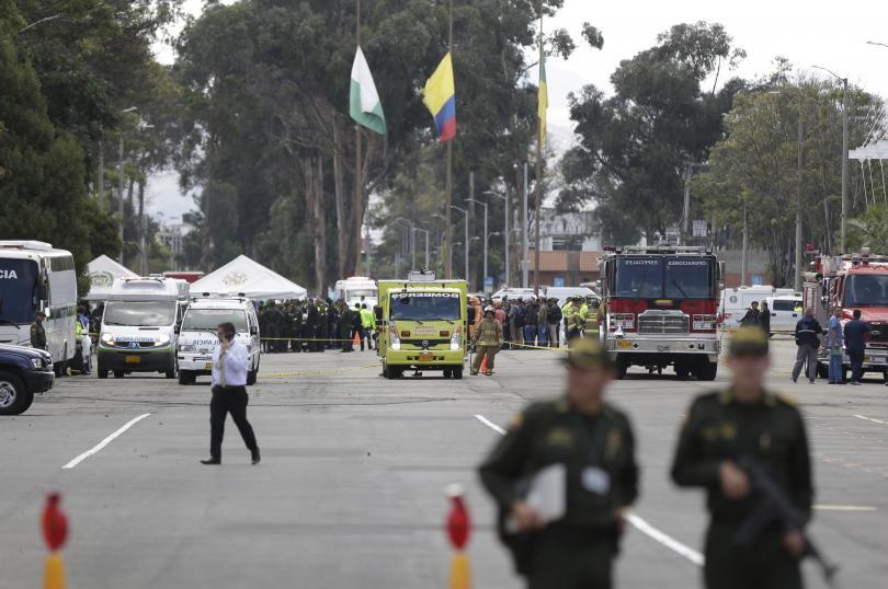 Снимка: Атентат в колумбийската столица Богота