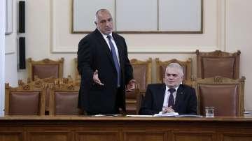 Премиерът Борисов участва в парламентарния контрол