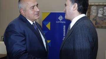 Премиерът Бойко Борисов разговаря с турския министър за ЕС Йомер Челик