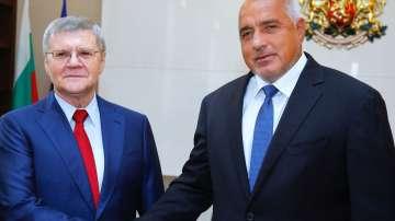 Бойко Борисов се е срещнал с генералния прокурор на Русия Юрий Чайка