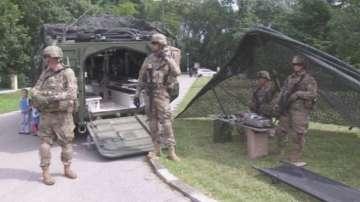 Бойна техника на армиите на България и САЩ показват в София