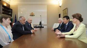 Премиерът Борисов прие президента на Международната федерация по гимнастика