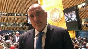 Премиерът Бойко Борисов ще произнесе реч пред Общото събрание на ООН