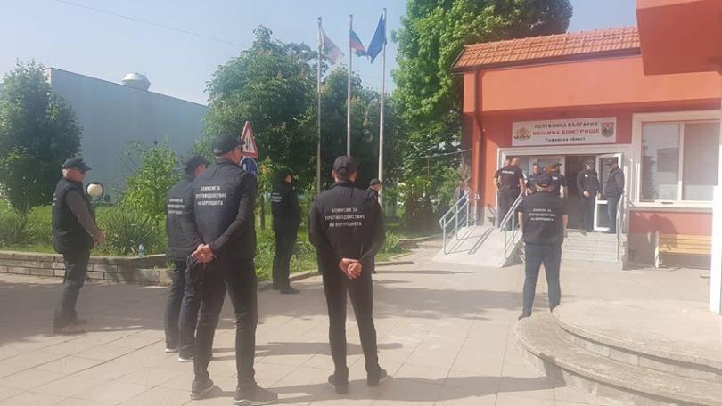 снимка 1 Спецпрокуратурата, КПКОНПИ и СДВР провеждат акция в община Божурище