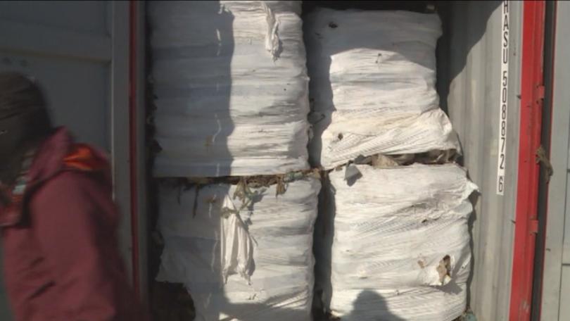 Контейнерите с боклук се очаква да бъдат натоварени на кораба за Италия в събота