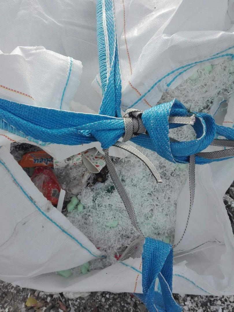 снимка 9 Откриха тонове боклук от Испания в коритото на река Чая край Катуница (СНИМКИ)