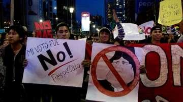 Масови протести в Боливия срещу Ево Моралес