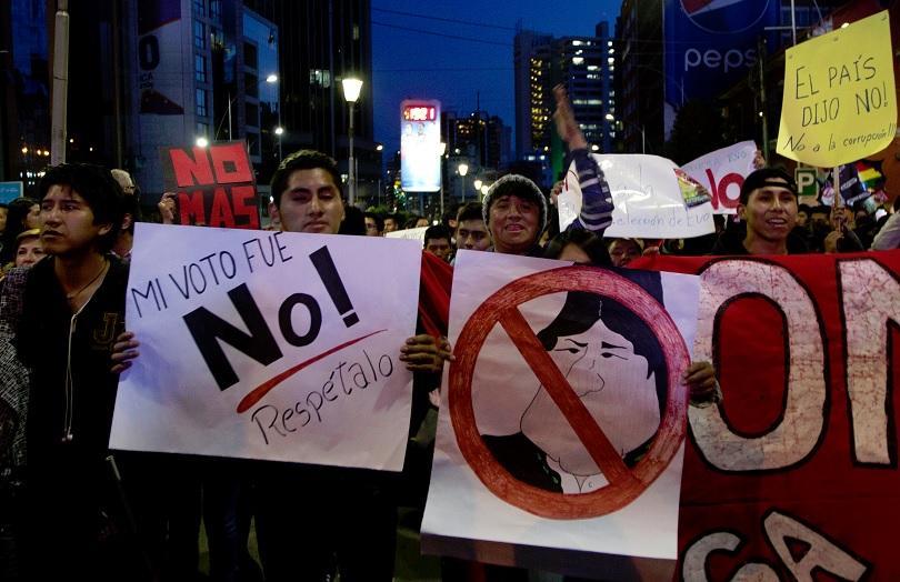 05cb750d367 Масови протести в Боливия срещу Ево Моралес