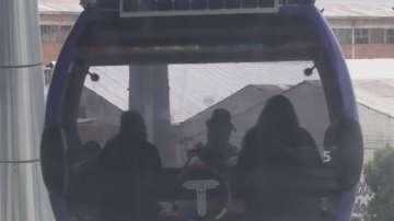 В Боливия избягват задръстванията с градски лифт
