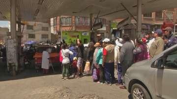 Опашки за храна в Боливия