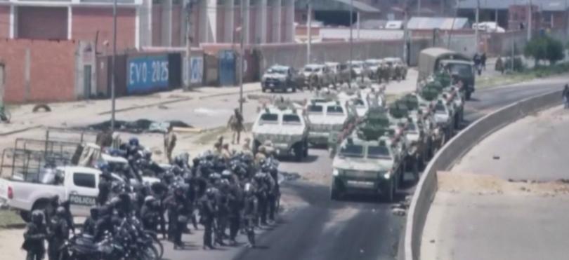 Снимка: Най-малко трима души са убити при сблъсъци в Боливия