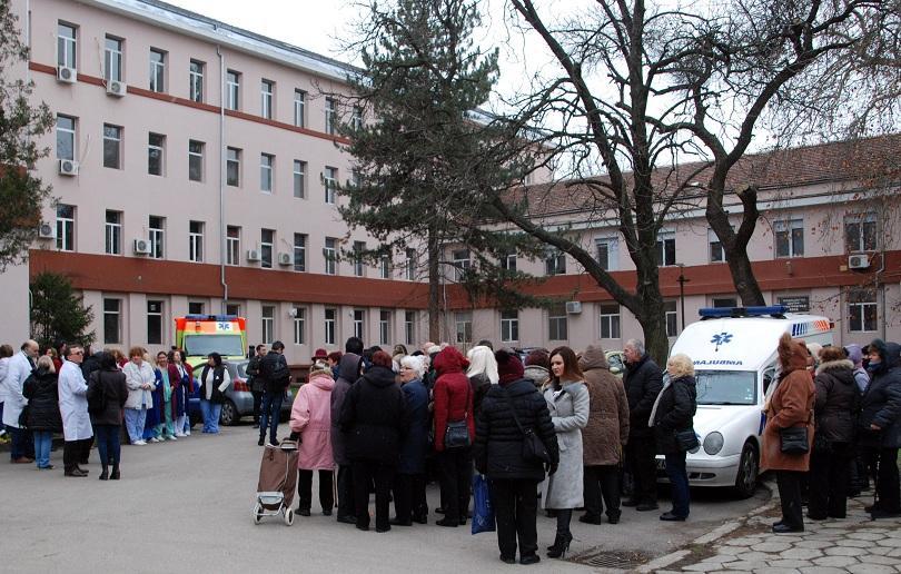 23 общински болници от цялата страна днес преустановиха работа за