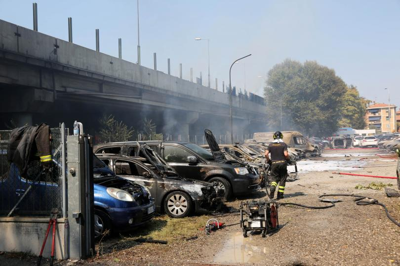 снимка 1 Повечето българчета, пострадали при взрива в Болоня, са изписани от болница