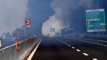 Три от пострадалите български деца при експлозията в Болоня остават на лечение