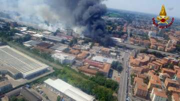 Най-малко две жертви след взрива на летището до Болоня, ранените са над 60