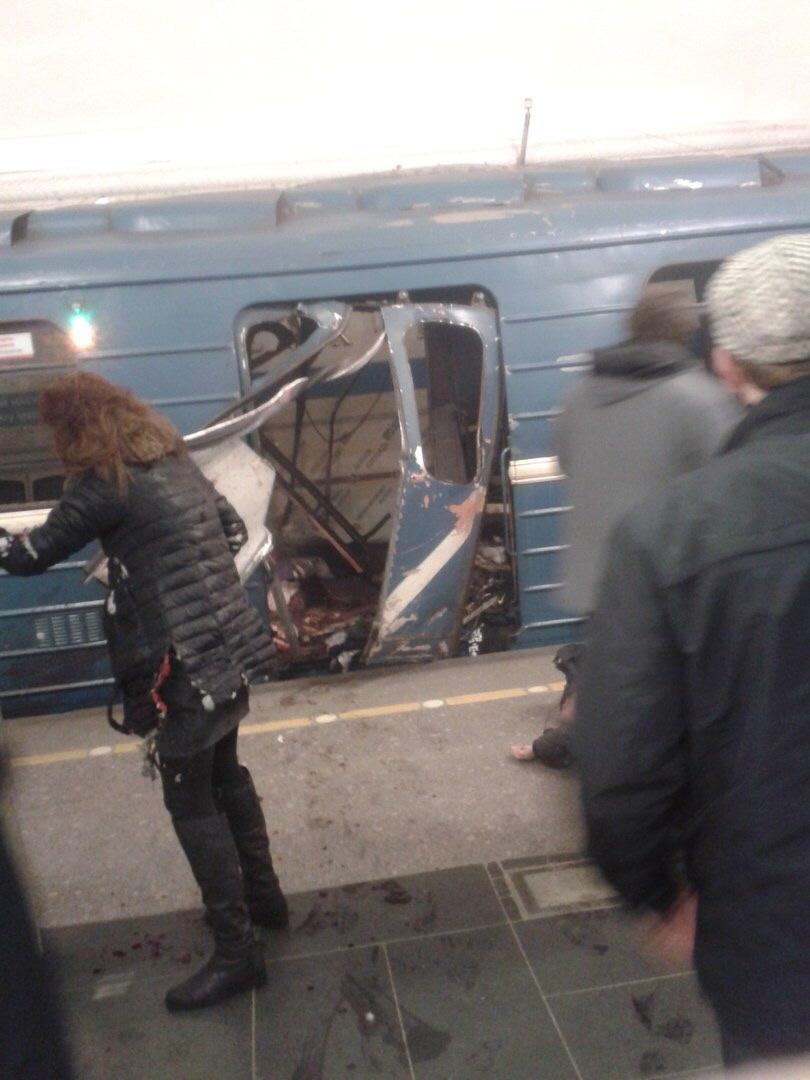 снимка 1 Руски гражданин от централноазиатски произход е заподозрян за атентата в метрото