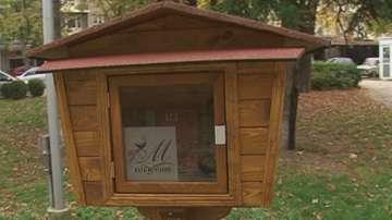 Къщички за книги в Русе