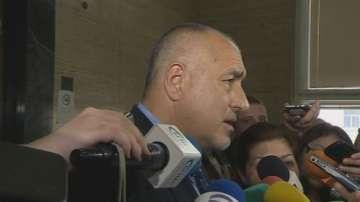 Бойко Борисов се яви като свидетел по делото срещу Сергей Станишев