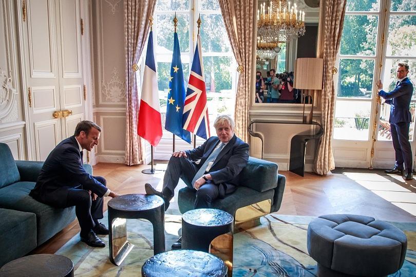 Обидил ли е Франция Борис Джонсън, когато вчера при срещата