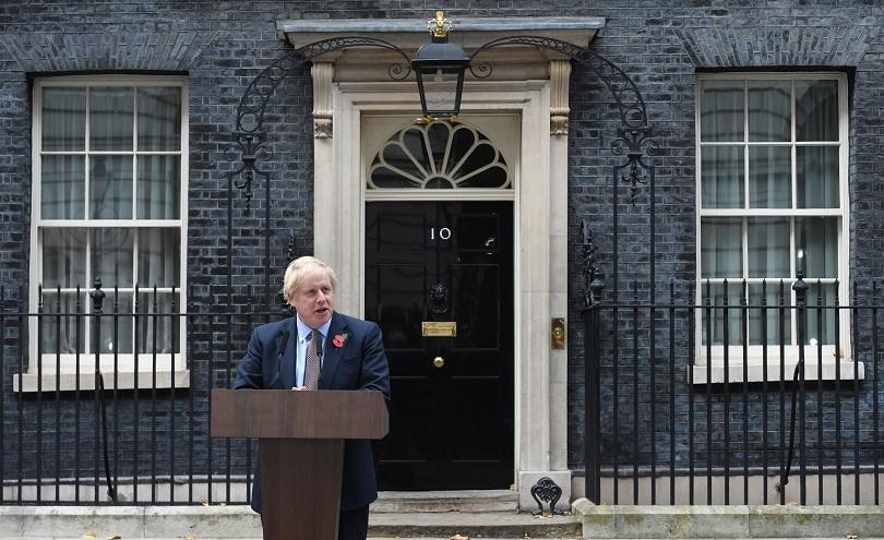 Британският премиер Борис Джонсън посети кралица Елизабет Втора, с което
