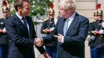 Макрон и Джонсън обсъдиха Споразумението за Брекзит в Париж