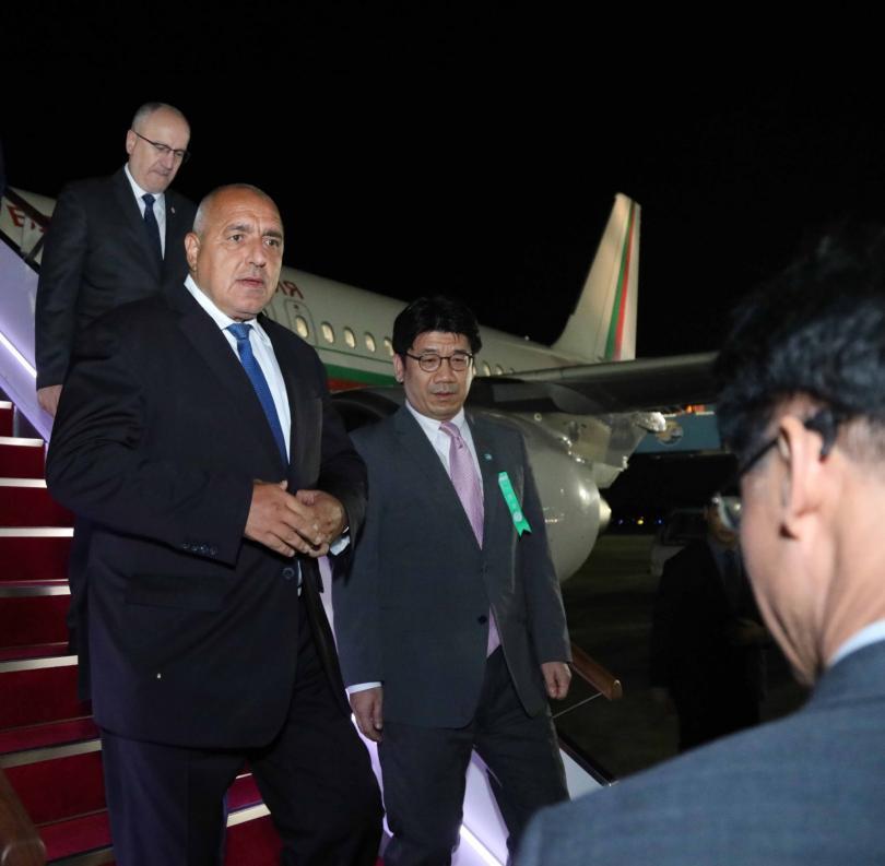 снимка 6 Борисов пристигна в Южна Корея, ще търси партньорство за иновации