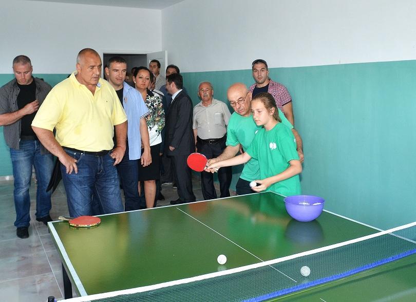 снимка 1 Откриха новата спортна зала в Кубрат