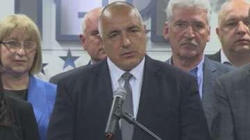 Бойко Борисов: Резултатът потвърди, че ГЕРБ трябва да е водеща партия