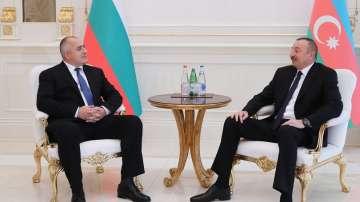 Бойко Борисов разговаря с президента на Азербайджан
