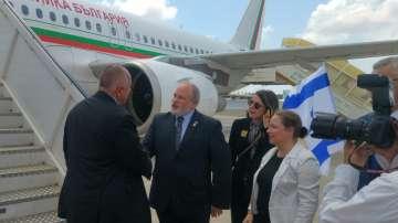 Премиерът Борисов пристигна в Тел Авив