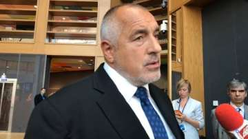 Борисов представя кандидатурата на България за чакалнята на еврозоната