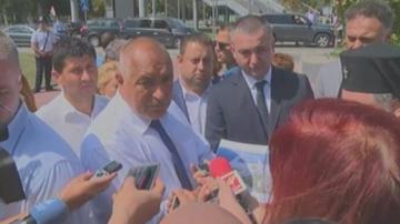 Борисов проверява работата по големите инфраструктурни обекти във Варнa