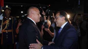 Премиерът Борисов пристигна в Египет