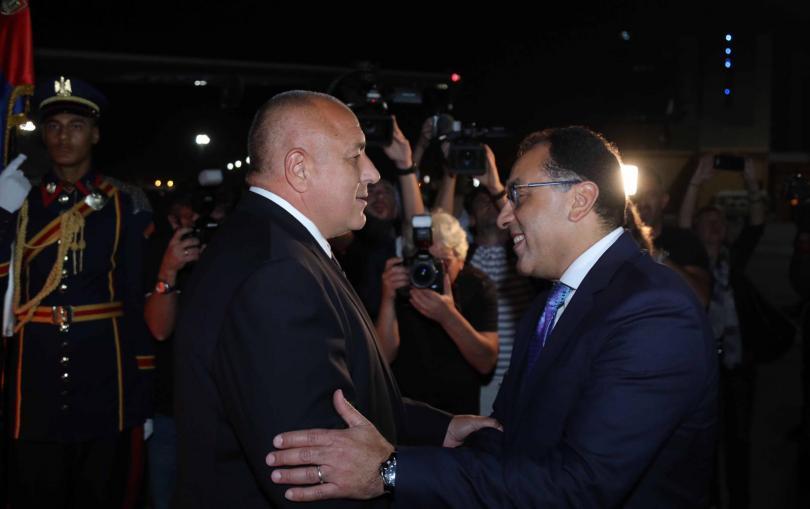 Премиерът Борисов пристигна тази вечер в египетската столица Кайро след
