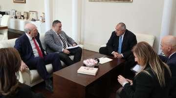 Борисов се срещна с представители на Камарата на строителите в България