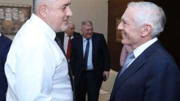 Бойко Борисов се срещна с Уесли Кларк
