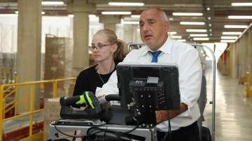 Премиерът Борисов посети индустриалната зона в Божурище