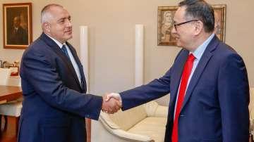 Борисов сe срещна с Управляващия на Световната банка Шаолин Янг