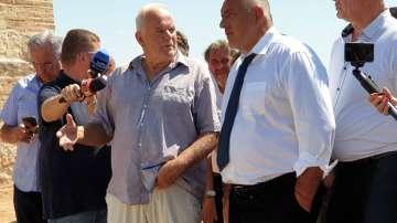 Премиерът инспектира разкопките на Малтепе