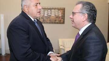 Премиерът Борисов се срещна с гръцкия министър по миграционната политика